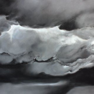 Ashley Oubré, Untitled (large clouds)