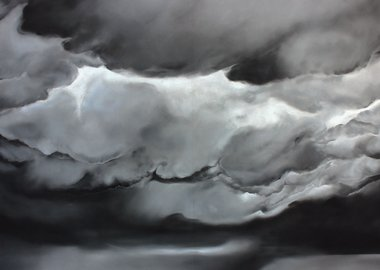 work by Ashley Oubré - Untitled (Large Clouds)