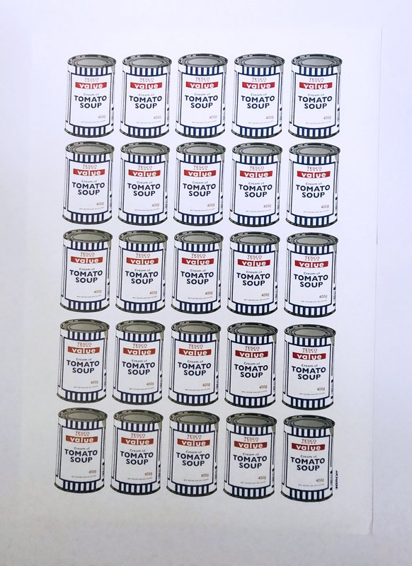 Banksy - Soup Cans for Sale | Artspace