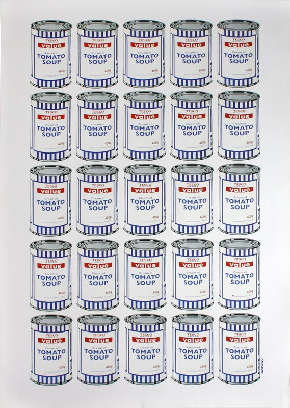 Banksy, Soup Cans