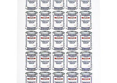 work by Banksy - Soup Cans