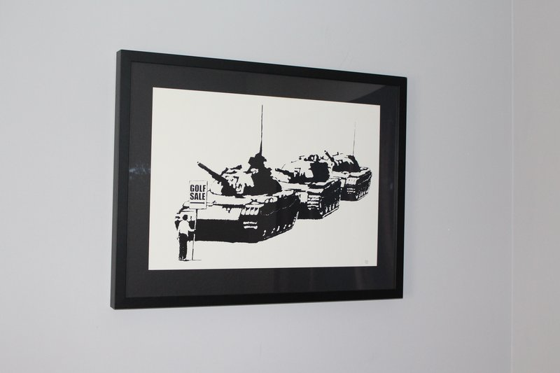 Banksy, Golf Sale -