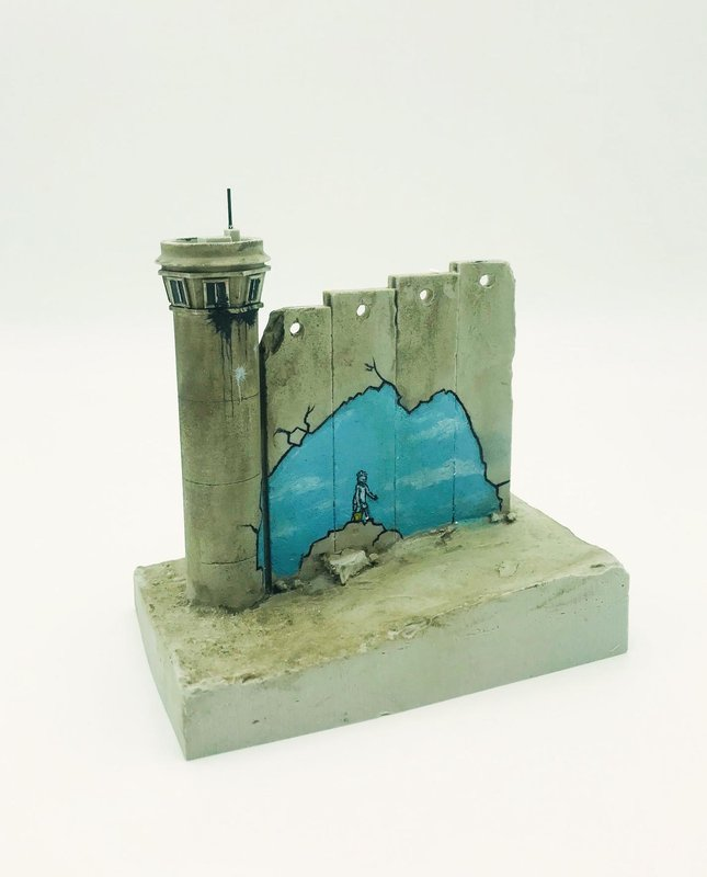 Banksy, Walled Off Hotel - Wall Sculpture