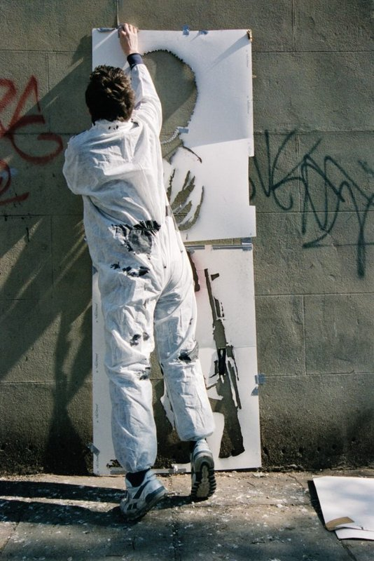view:34359 - Banksy, Banksy Captured, by Steve Lazarides -