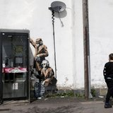 different view - Banksy, Banksy Captured, by Steve Lazarides - 2