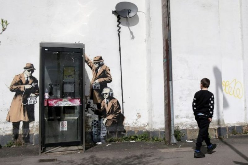 view:35097 - Banksy, Banksy Captured, by Steve Lazarides -