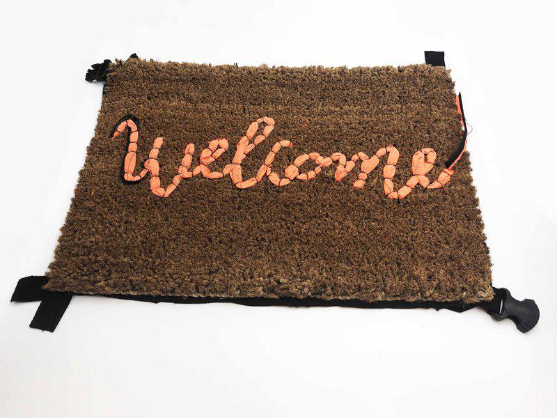 view:38498 - Banksy, Welcome Mat -