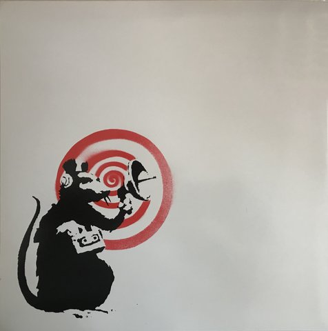 Banksy - Radar Rat (Dirty Funker LP)