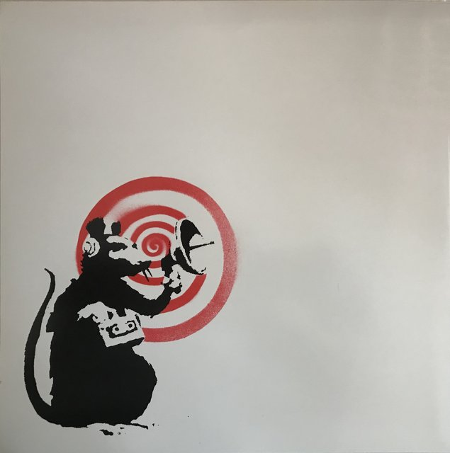 Banksy, Radar Rat (Dirty Funker LP)