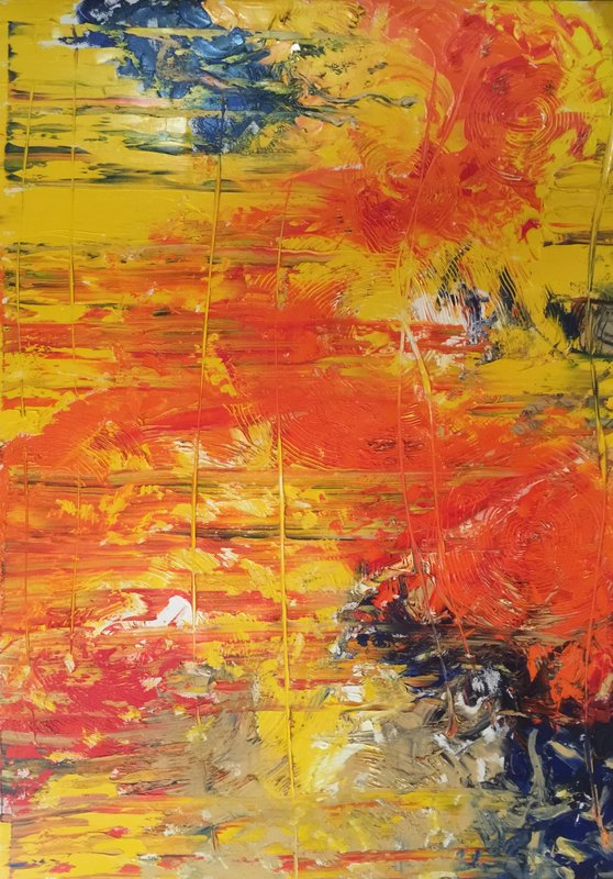 Barb Flunker, Abstraction 2