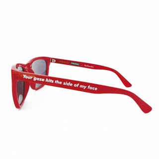L.A. Rays Sunglasses Red art for sale