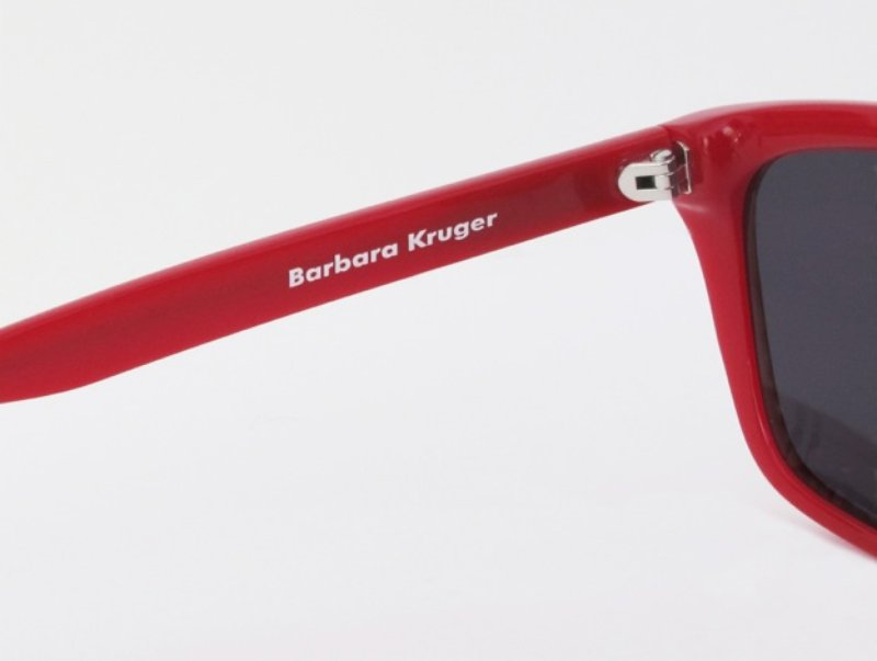 fedb16d913b Barbara Kruger - L.A. Rays Sunglasses Black and Red for Sale
