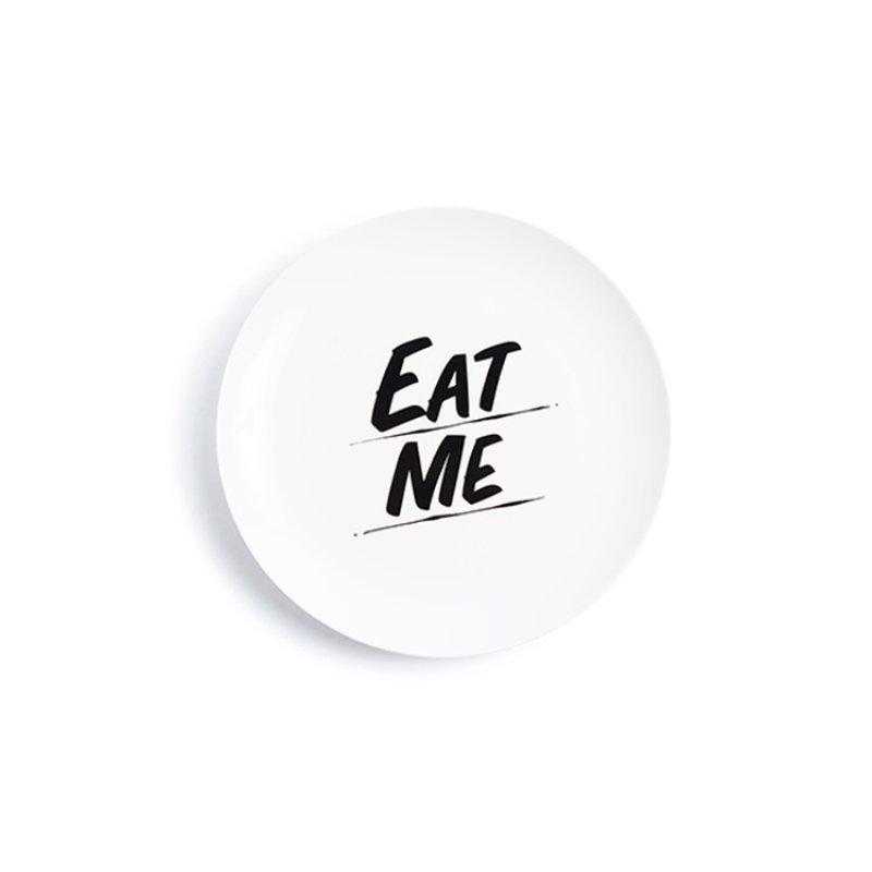 "Baron Von Fancy - ""Eat Me"" Baron Von Fancy Plate for Sale | Artspace"