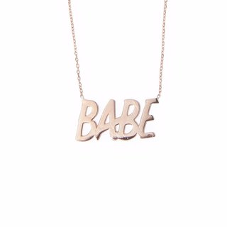"""Babe"" Necklace art for sale"