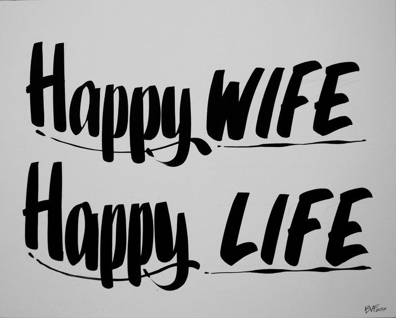 Baron Von Fancy - HAPPY WIFE HAPPY LIFE for Sale | Artspace