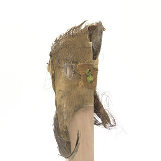 All palm bark mask art for sale