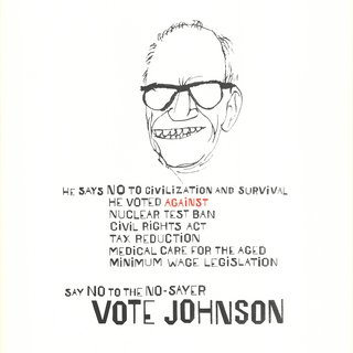 Vote Johnson art for sale