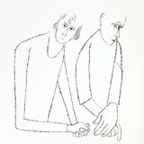 different view - Ben Shahn, For the Sake of a Single Verse - by R.M. Rilke with Ill. by B. Shahn - 13