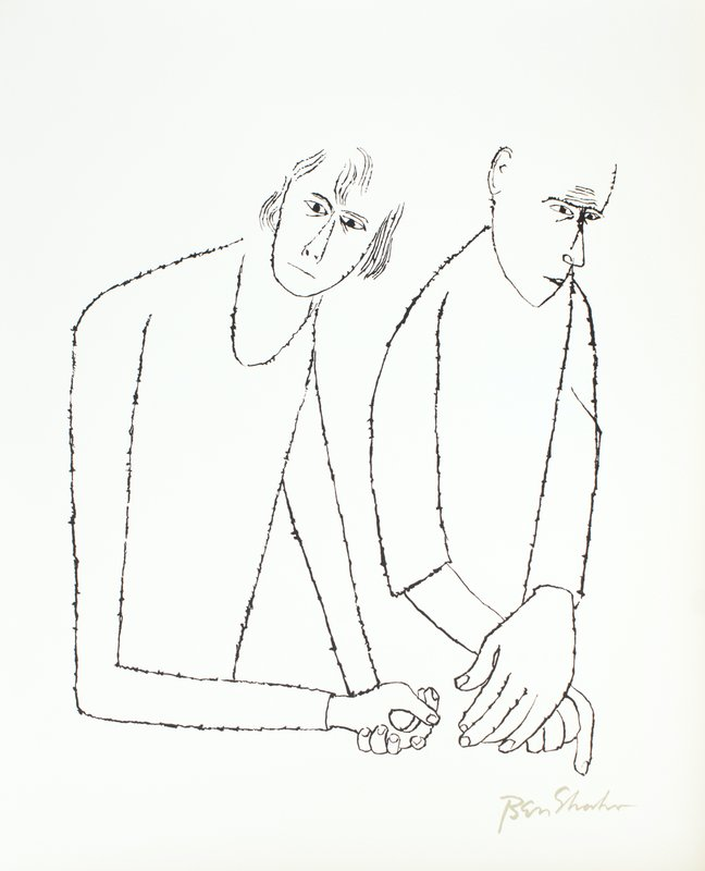 view:32683 - Ben Shahn, For the Sake of a Single Verse - by R.M. Rilke with Ill. by B. Shahn -
