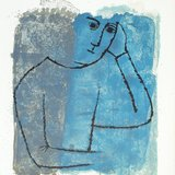 different view - Ben Shahn, For the Sake of a Single Verse - by R.M. Rilke with Ill. by B. Shahn - 15