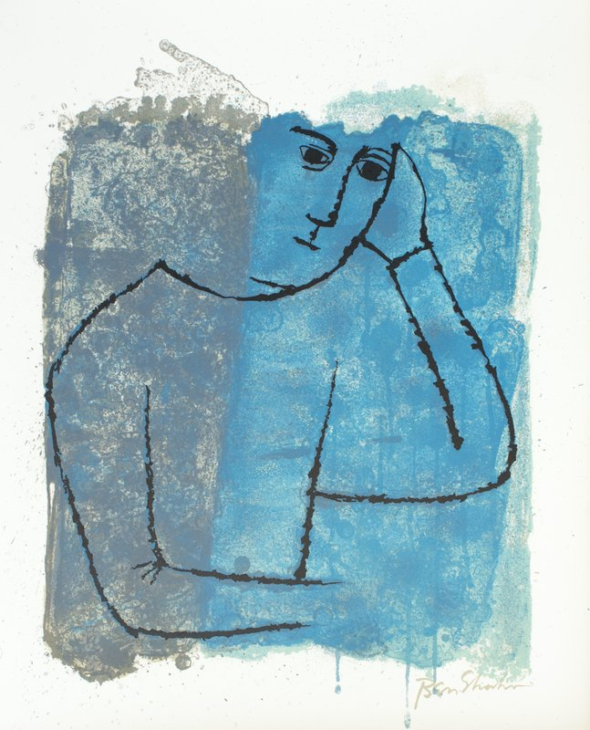 view:32685 - Ben Shahn, For the Sake of a Single Verse - by R.M. Rilke with Ill. by B. Shahn -