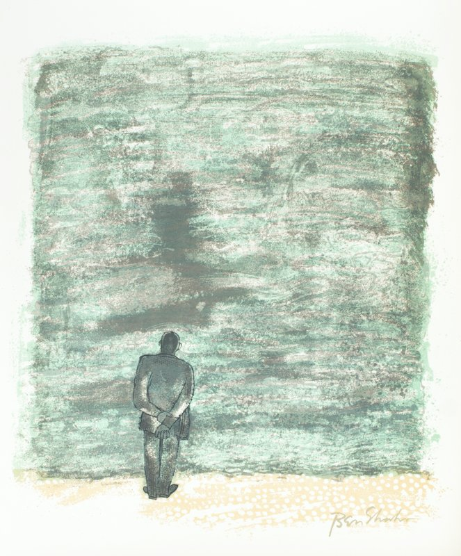 view:32686 - Ben Shahn, For the Sake of a Single Verse - by R.M. Rilke with Ill. by B. Shahn -