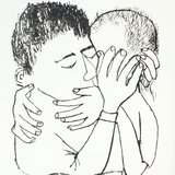 different view - Ben Shahn, For the Sake of a Single Verse - by R.M. Rilke with Ill. by B. Shahn - 19