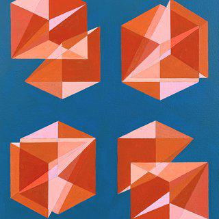 "Untitled (""Cubes Divided into Three"" series) art for sale"
