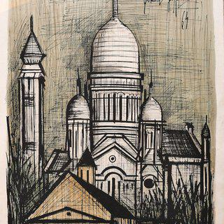 Church of Saint Sulpice art for sale