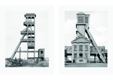 Bernd and Hilla Becher - Two Winding Towers