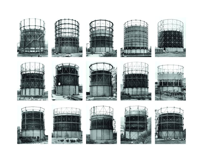 Bernd and Hilla Becher, Gas Tanks