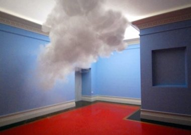 work by Berndnaut Smilde - Nimbus