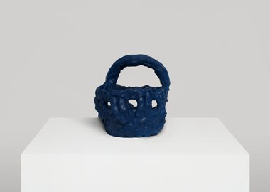 Beverly Semmes - Blue Basket