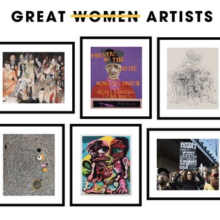 Great Women Artists Portfolio art for sale