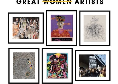 work by Bharti Kher, Catherine Opie, Cecily Brown, Dana Schutz, Jenny Saville, Lubaina Himid - Great Women Artists Portfolio