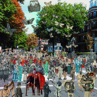 London- Abbey Road Parade art for sale