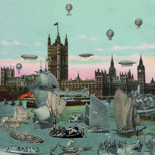 London- River Thames- Regatta art for sale