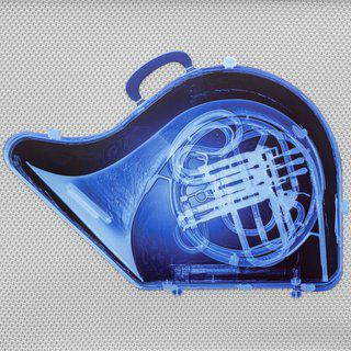 Blue French Horn art for sale