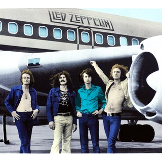 Led Zeppelin, NYC, 1973 art for sale