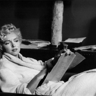 New York City. American actress Marilyn Monroe at home. 1958. art for sale