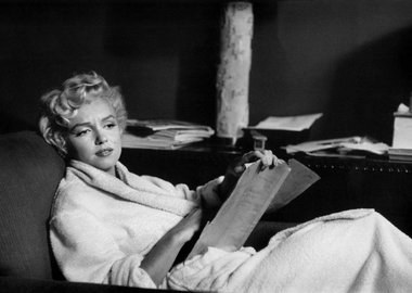 Bob Henriques - New York City. American actress Marilyn Monroe at home. 1958.