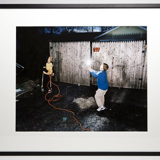 Untitled (Boys playing with lightbulb) art for sale