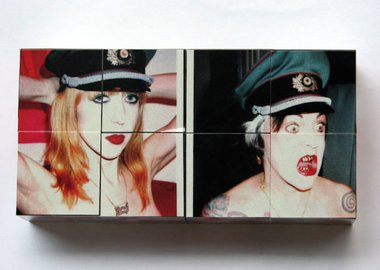 work by Breyer P-Orridge - Pandrogyne Cube