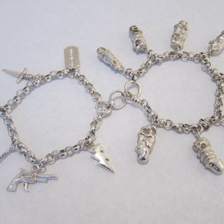 B-Earth Death Charm Bracelet art for sale