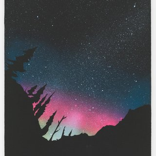 Aurora Borealis art for sale