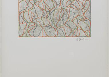 work by Brice Marden - Distant Muses