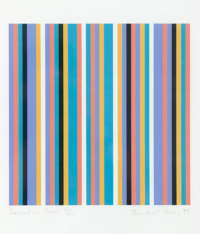 view:12375 - Bridget Riley, Serpentine -