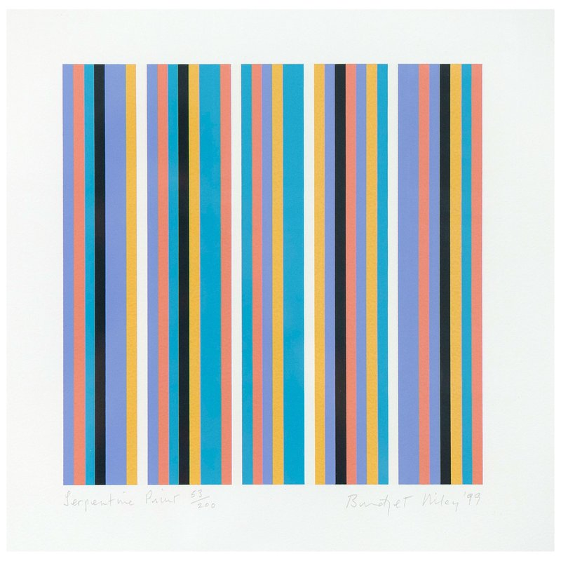 view:12384 - Bridget Riley, Serpentine -
