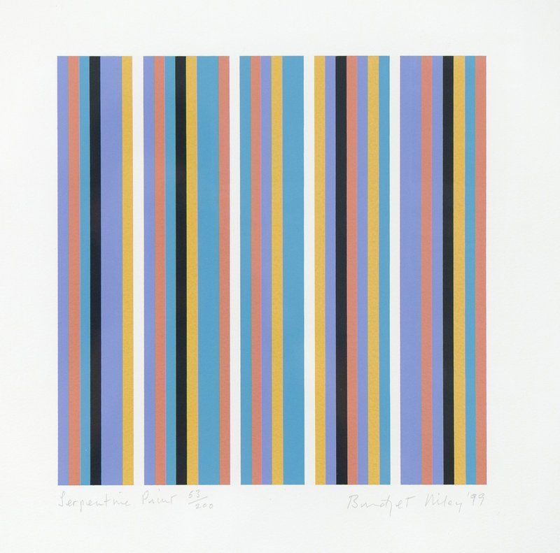 view:12386 - Bridget Riley, Serpentine -