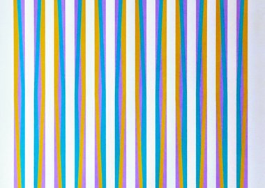 Bridget Riley - Untitled, from Conspiracy the Artist as Witness
